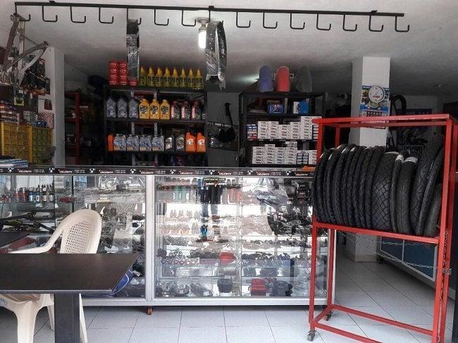 Almacenes de Repuestos para Motos en Ibagué