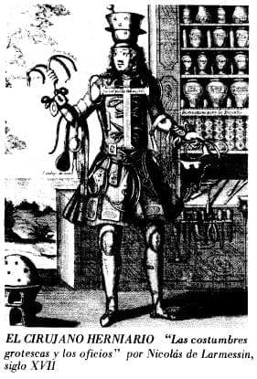 El Cirujano Herniario, Nicolás de Larmessin