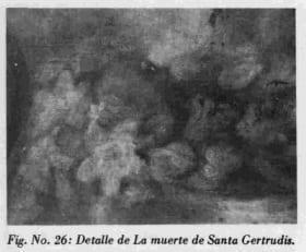 La muerte de Santa Gertrudis