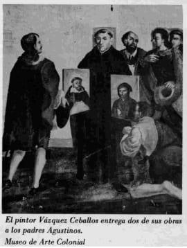 El pintor Vázquez Ceballos