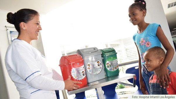 Un hospital infantil que busca reducir su impacto ambiental