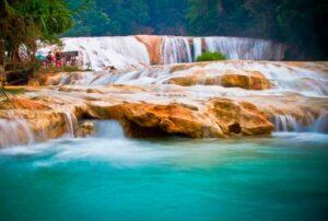 Cascadas Agua Azul, Chiapas (lugares para visitar en México)