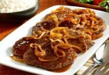 Carne en Bistec a la Mexicana