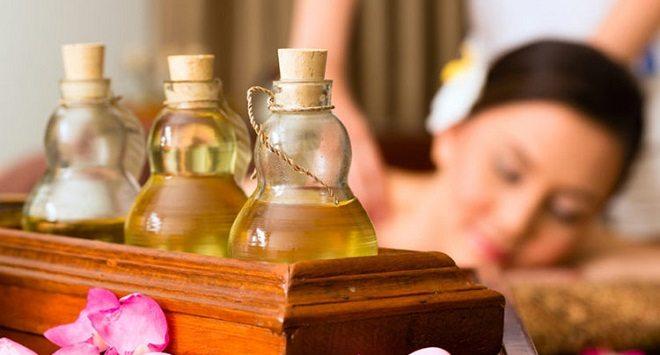 aceites para masajes