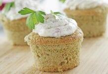 Muffins de Calabacín y Queso
