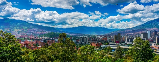 Medellín y Cartagena
