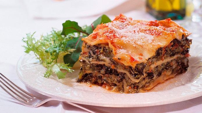 lasagna de berenjenas