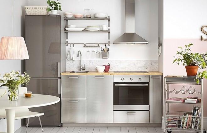 Tips para decorar cocinas pequeñas