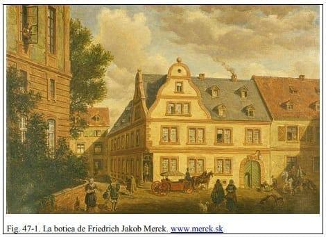 La botica de Friedrich Jakob Merck