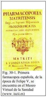 Primera farmacopea española