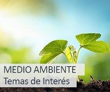 Temas de interés: medio ambiente