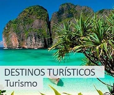 Turismo: destinos turísticos