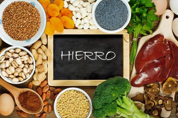 DEFICIENCIA DE HIERRO, SÍNTOMAS DEFICIENCIA DE HIERRO