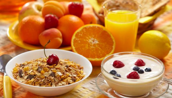 desayunos con frutas