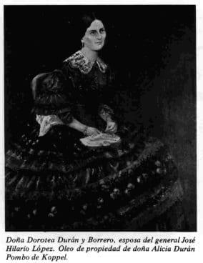 Doña Dorotea Durán y Barrero