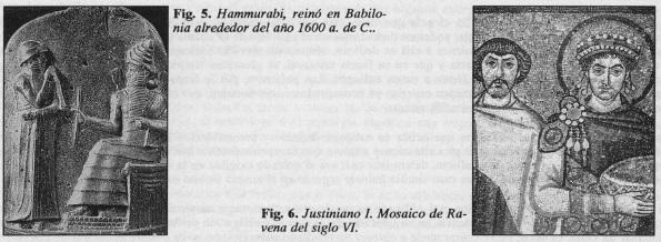 Justiniano yHammurabi, reinó en Babilonia - Aspectos Éticos y Legales de la Cirugía