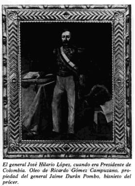 El general José Hilario López