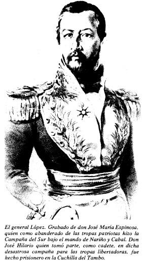 El general López