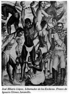 José Hilario López, Libertador de los Esclavos