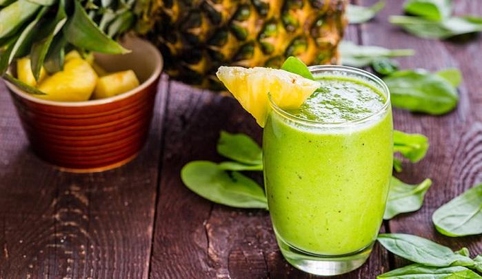 batido de frutas tropicales