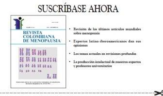 Revista Colombiana de Menopausia, Suscripción