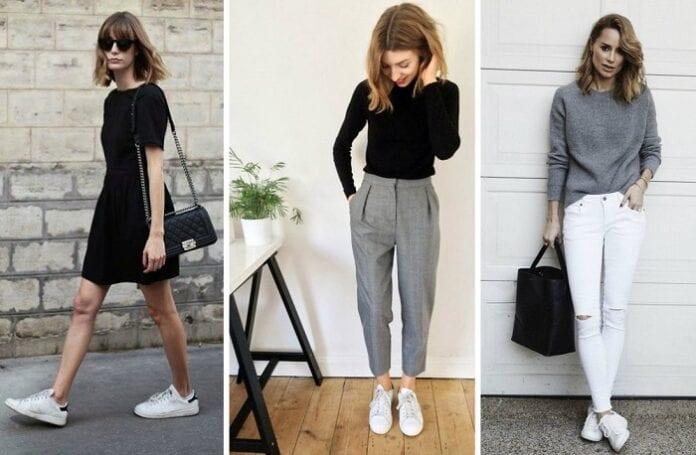 Ideas para Usar Zapatillas y Tener Looks Más Formales