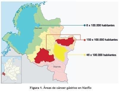 Áreas de cáncer gástrico, Proyecto Urkunina 5000