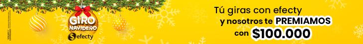 Efecty Navidad 728X90