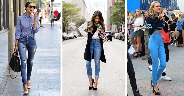 Pantalones De Tiro Alto Consejos De Moda