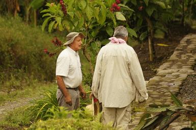 Dos campesinos de Quindio