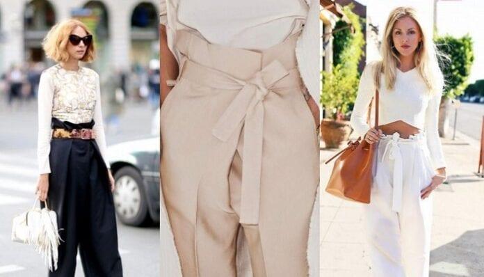 Consejos para Usar Pantalones Paper Bag