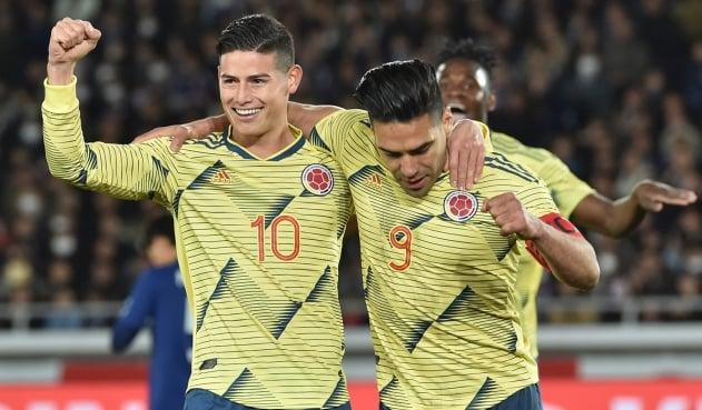 Jugadores copa américa Colombia