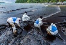 Contaminación por petroléo