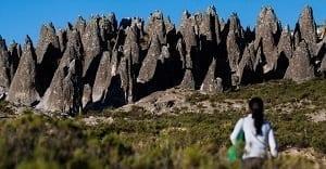 Bosque de Piedras en Pampachiri en Apurímac