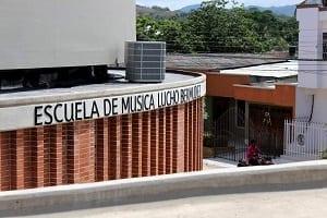 Escuela de Musica Lucho Bermudez, Carmen de Bolivar