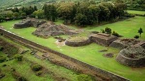 Zona arqueológica TzintzunTzan