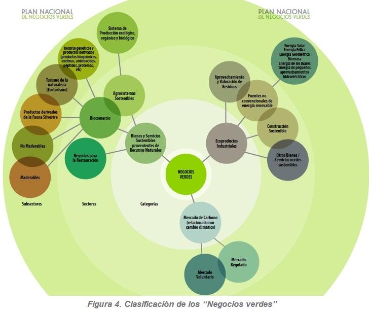 """Clasificación de los """"Negocios verdes"""""""