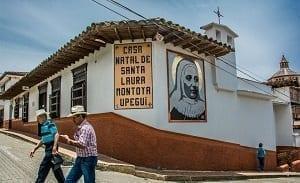 Casa Santa Laura Montoya en Jericó