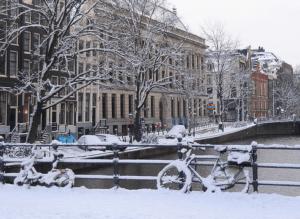 Invierno en Europa - Amsterdam, Holanda