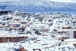 Invierno en Europa - Narvik, Noruega