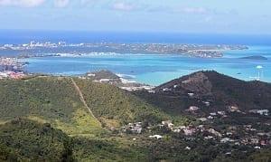 Pico Paradis, Isla de San Martin