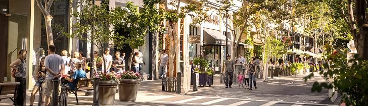 Santana Row, California
