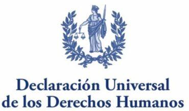 Declaración Universal sobre Derechos Humanos