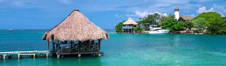Islas del Rosario, Playas en Colombia