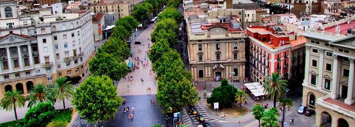 Las Ramblas, Lugares para Visitar en Barcelona