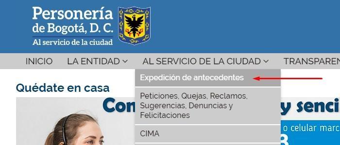 Certificado de Personería en línea 1