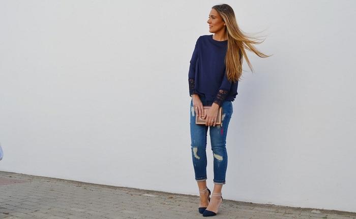 Consejos para Vestirse de Azul y Verse a la Moda