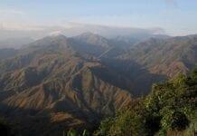 Cordillera Occidental en Colombia