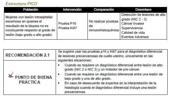 Prueba P16 Prueba Ki67