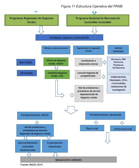 Estructura Operativa del PRNB